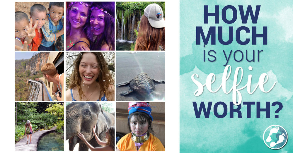 How much is your selfie worth ethical travel