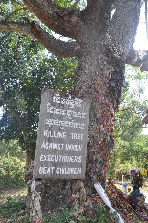 Killing Fields Killing tree Khmer Rouge Phnom Penh
