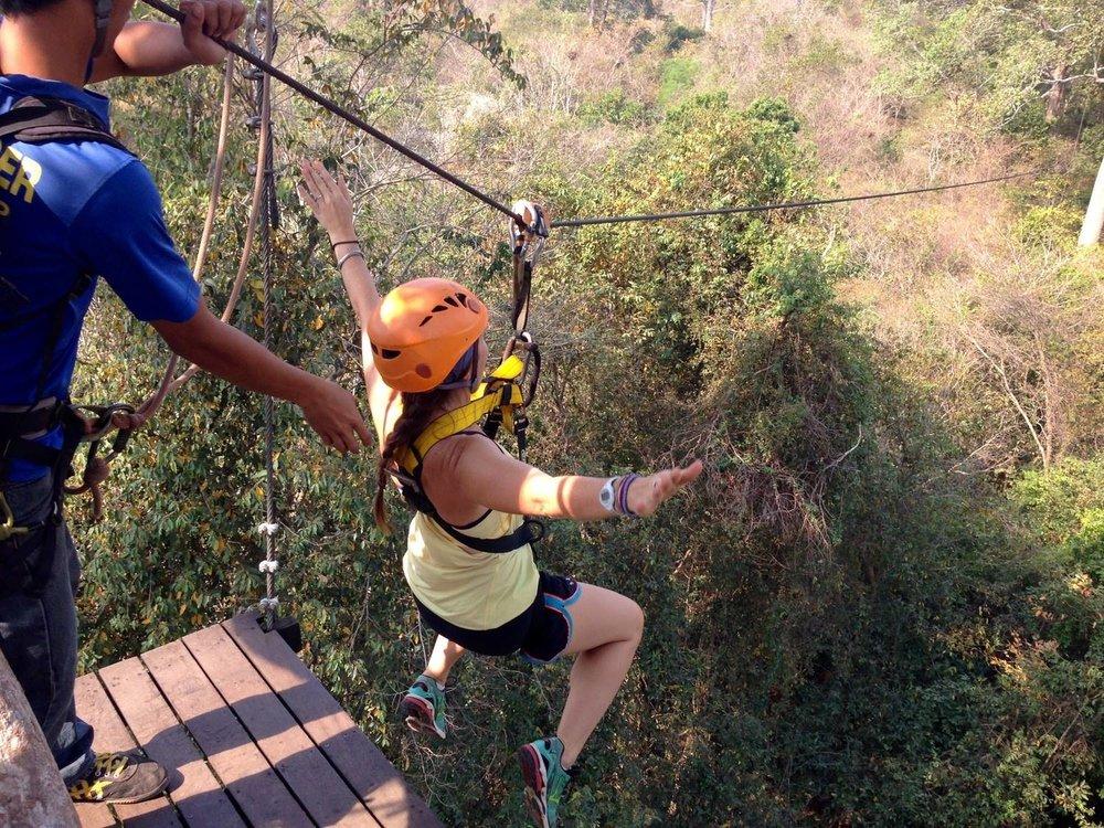 Flight of the Gibbon Zip-lining Angkor Wat