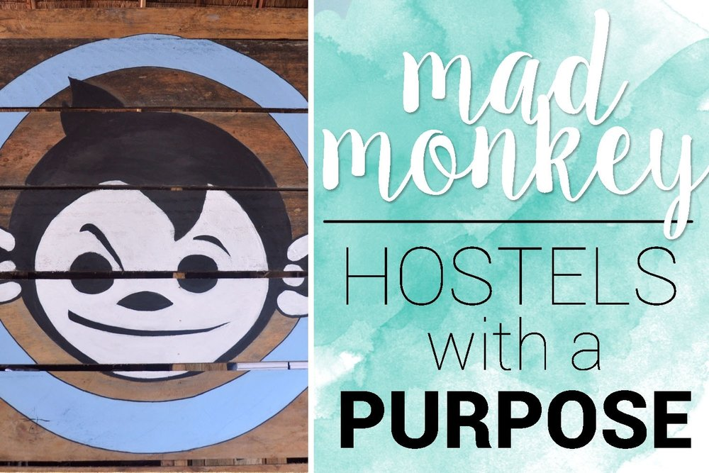 Mad Monkey Hostels with a prupose