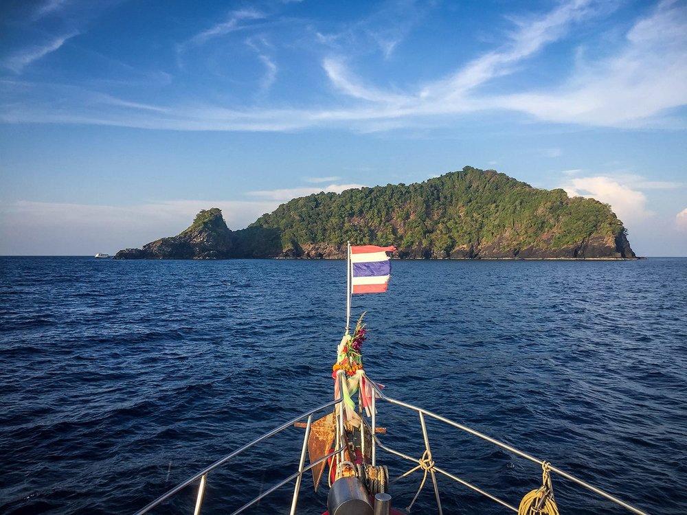 Similan Islands Liveaboard Wicked Diving Thailand Koh Bon