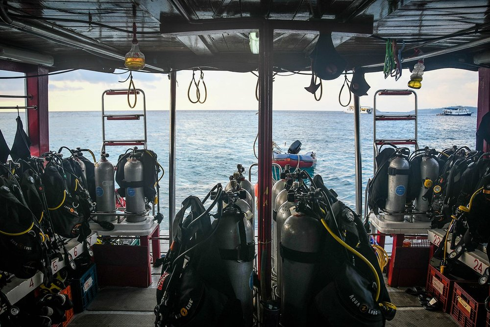 Similan Islands Liveaboard Wicked Diving Thailand Scuba Gear