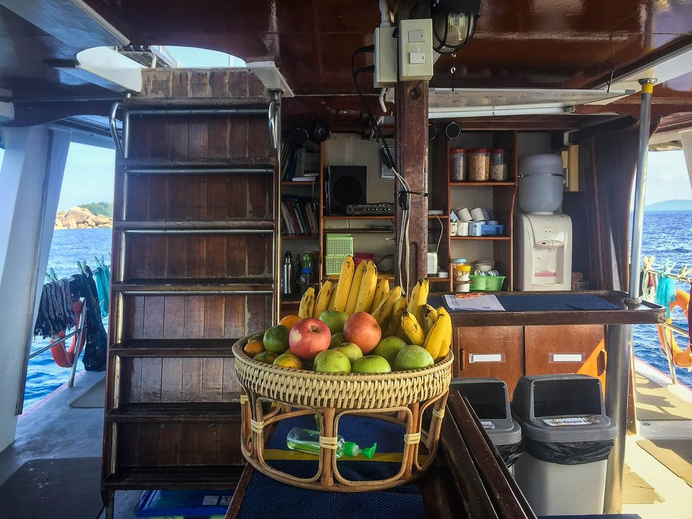 Similan Islands Liveaboard Wicked Diving Thailand Main Deck Common Area