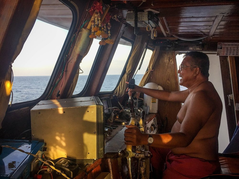 Similan Islands Liveaboard Wicked Diving Thailand Boat Captain