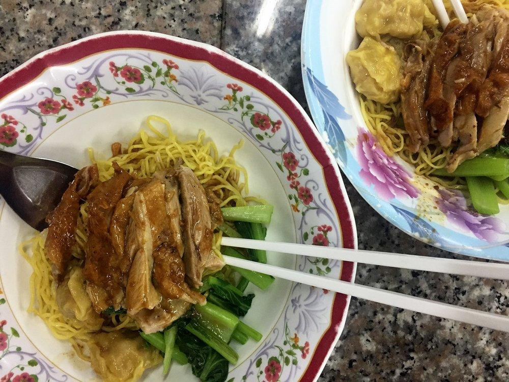 Prachak Roasted Duck Noodles Bangkok