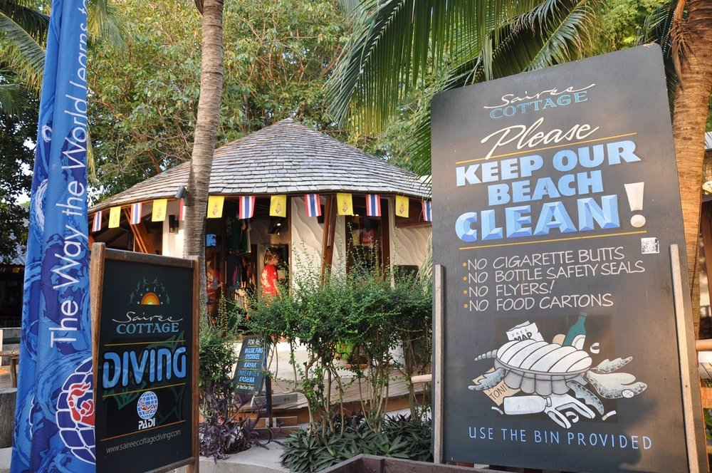 How To Choose A Dive School in Koh Tao Clean Beach