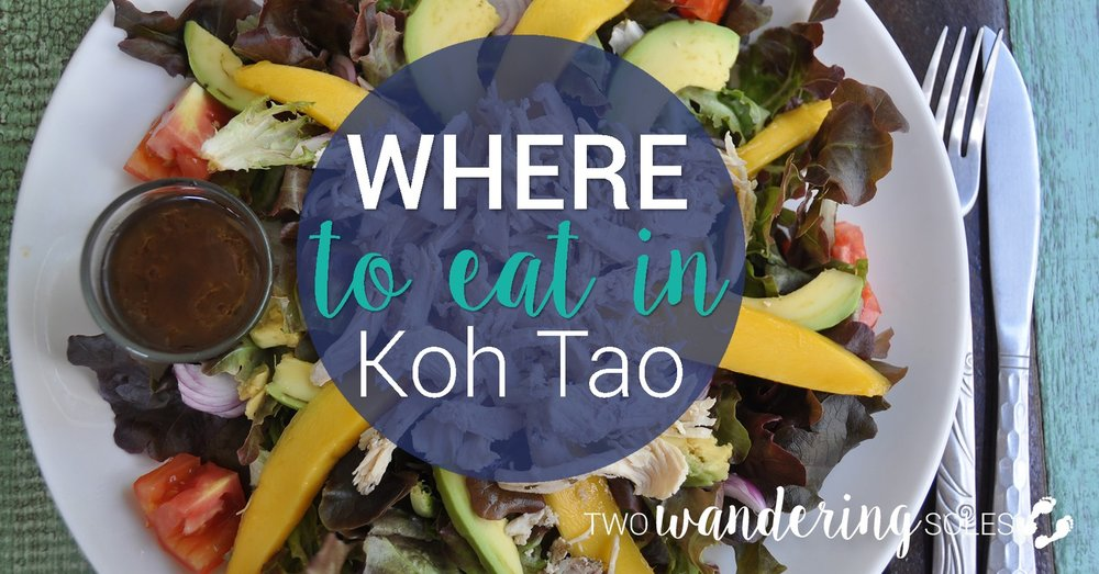 Where to Eat in Koh Tao Thailand
