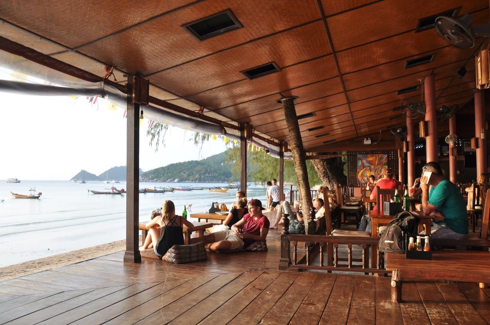 Where to eat in Koh Tao Sairee Cottage Restaurant