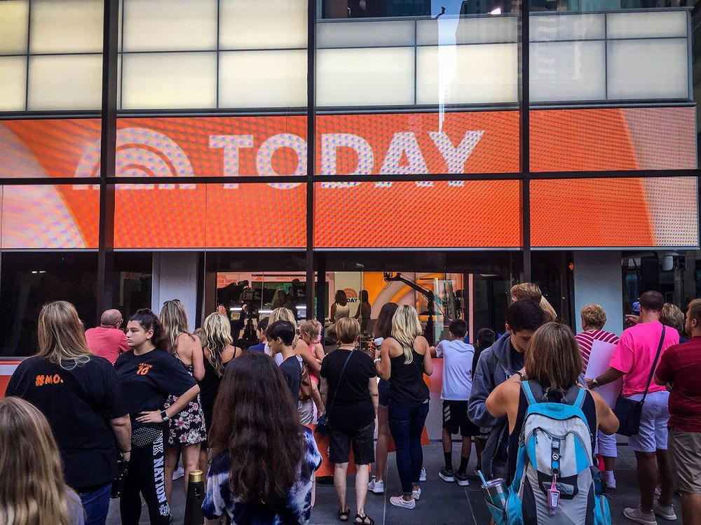 Things to Do in New York City Today Show Visit