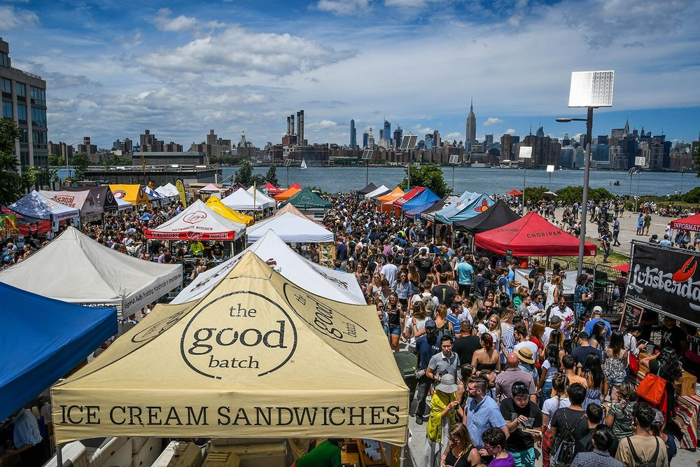 Things to Do in New York City Smorgasburg Food Fair