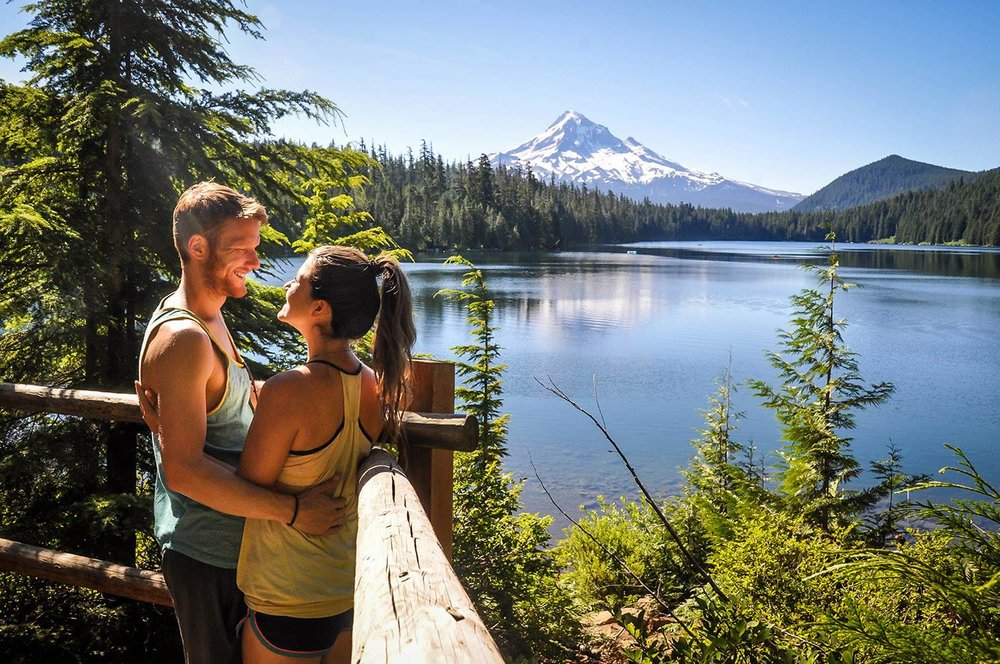 Things to Do in Oregon Mount Hood Lost Lake Viewpoint