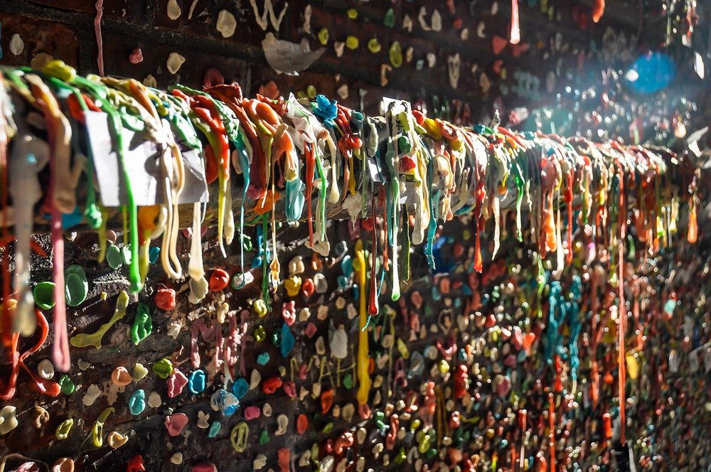 Best Things to Do in Seattle Gum Wall