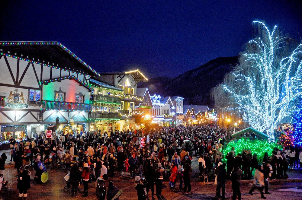 Leavenworth Washington Christmas Lighing Festival