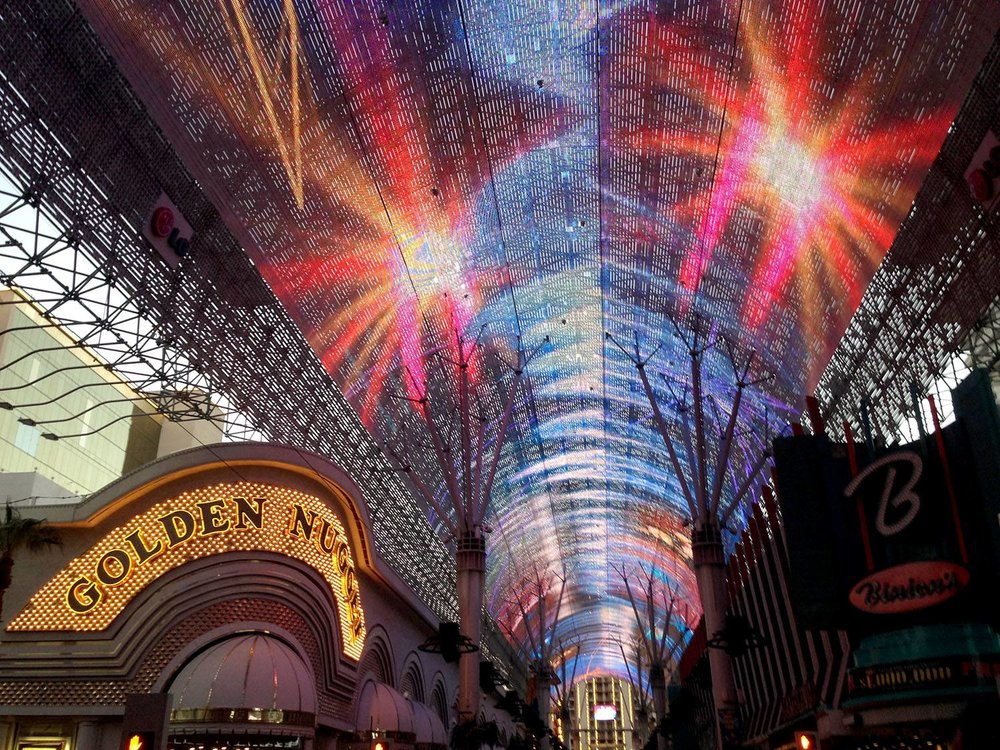 Fremont Experience Las Vegas on a Budget