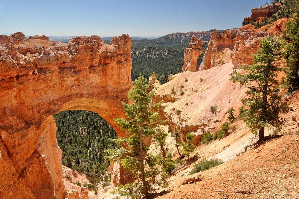 Natural Bridge Bryce Canyon National Park