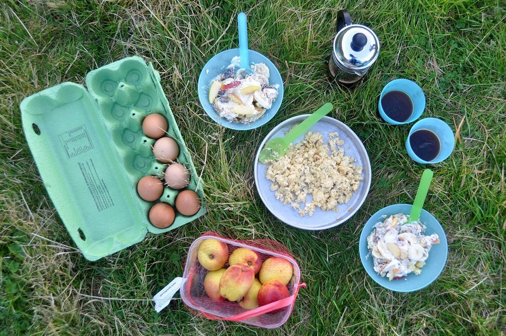 Camping Food in Iceland Budget