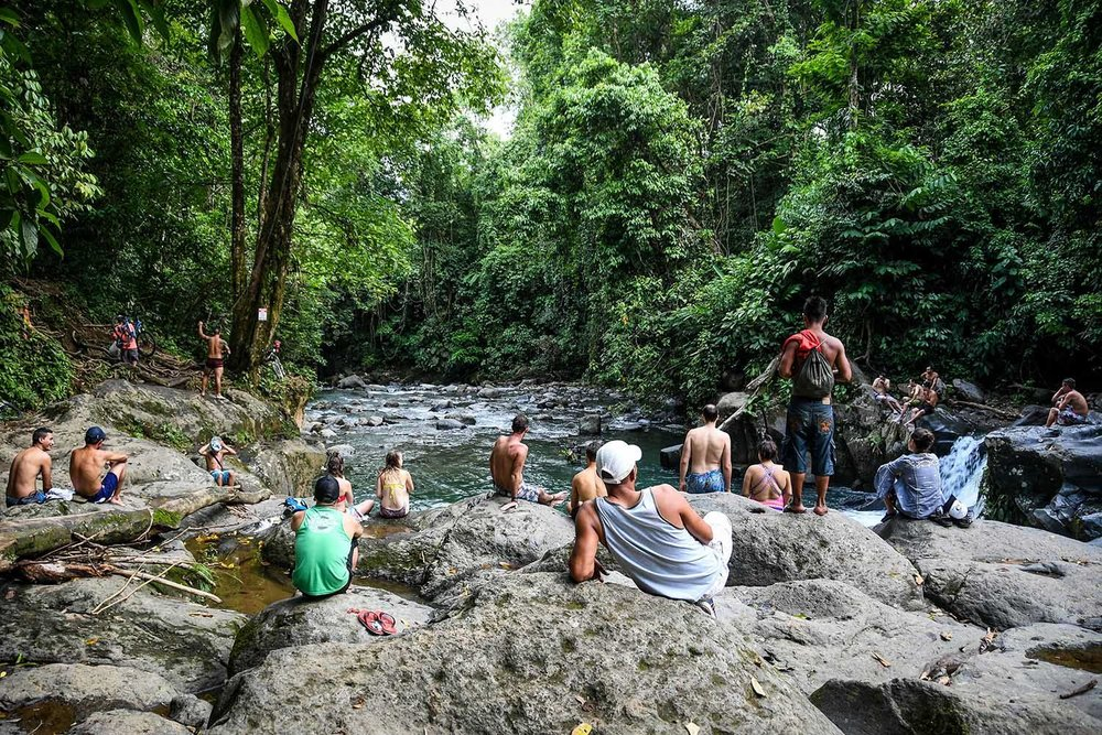 Things to Do in Costa Rica Rope Swing