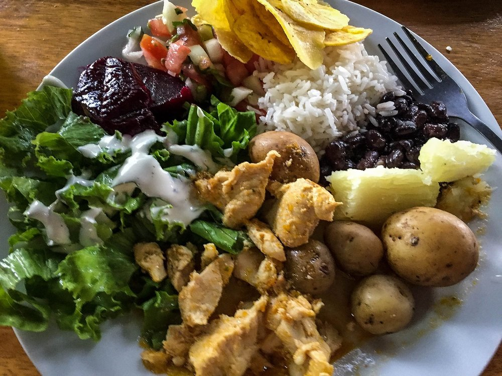 Things to do in Arenal Costa Rica Traditional Meal