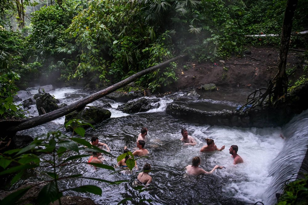Things to do in Arenal Costa Rica Free Natural Hot Springs