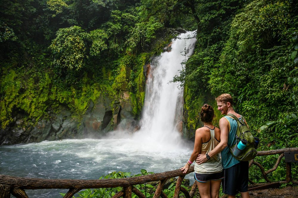 Things to do in Arenal Costa Rica Rio Celeste Waterfall