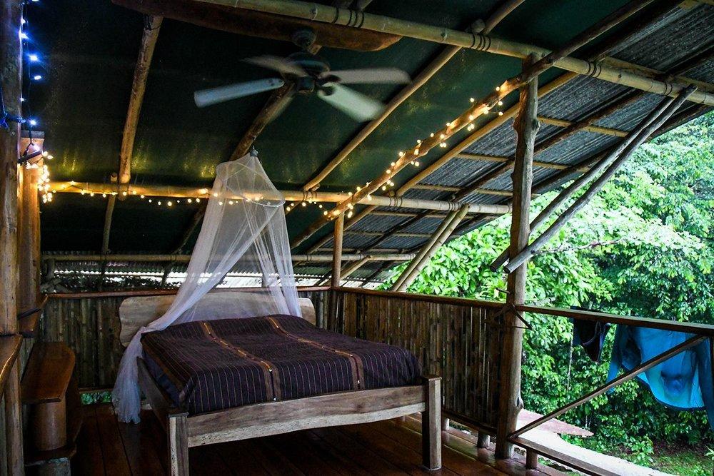 Rancho Mastatal Sustainable Lodge Naturally Built Room
