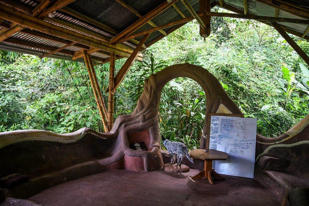 Rancho Mastatal Sustainable Lodge Workshop space