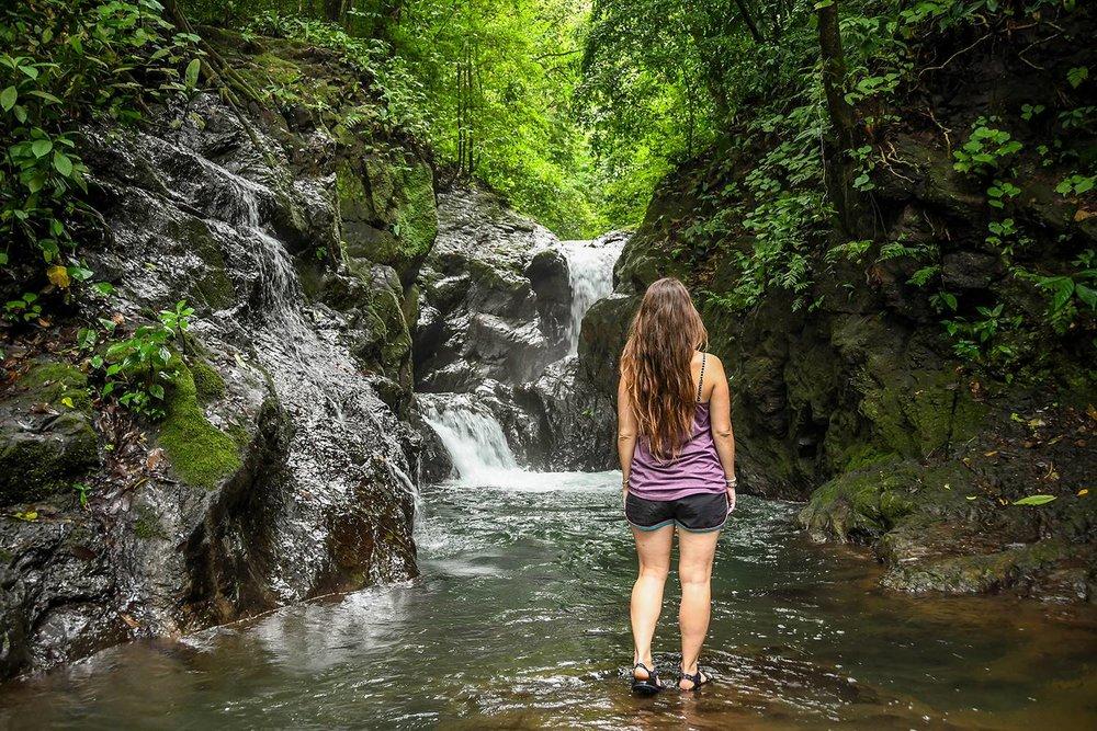 Rancho Mastatal Sustainable Lodge Waterfall