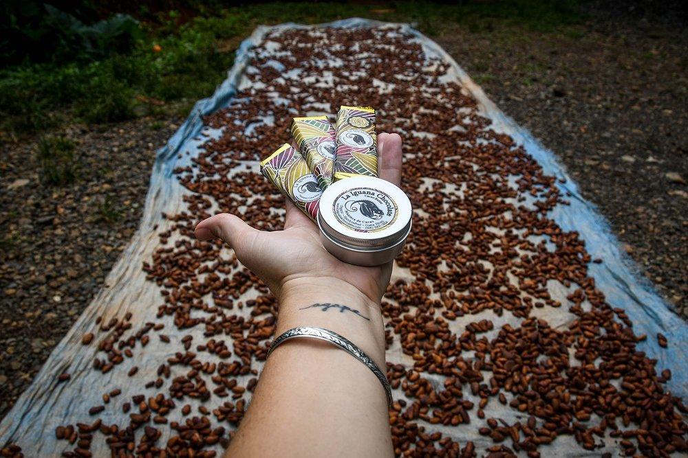Rancho Mastatal Sustainable Lodge La Iguana Chocolate and Cocoa Butter