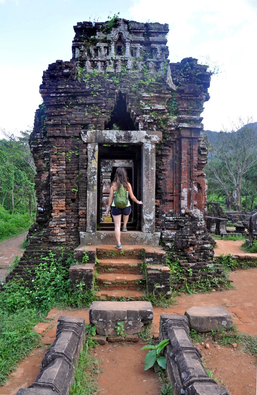 My Son Ancient Ruins Hoi An Vietnam