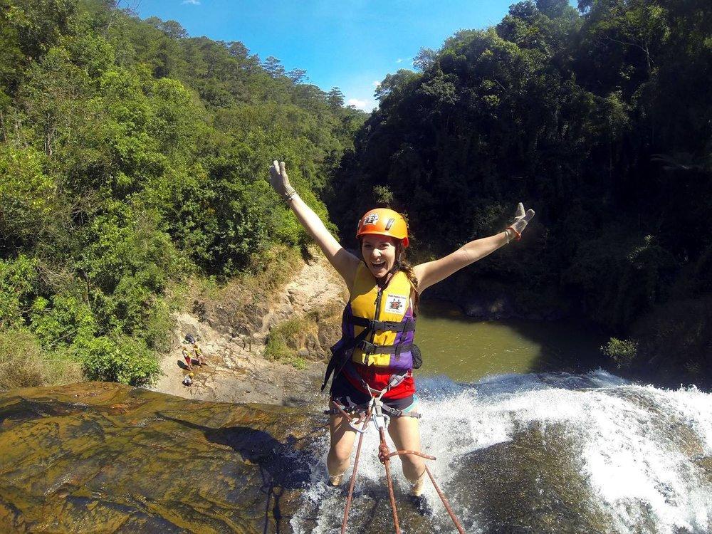 Canyoneering Waterfalls Da Lat Vietnam
