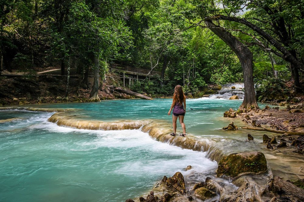 Things to Do in Mexico El Chiflon Waterfalls
