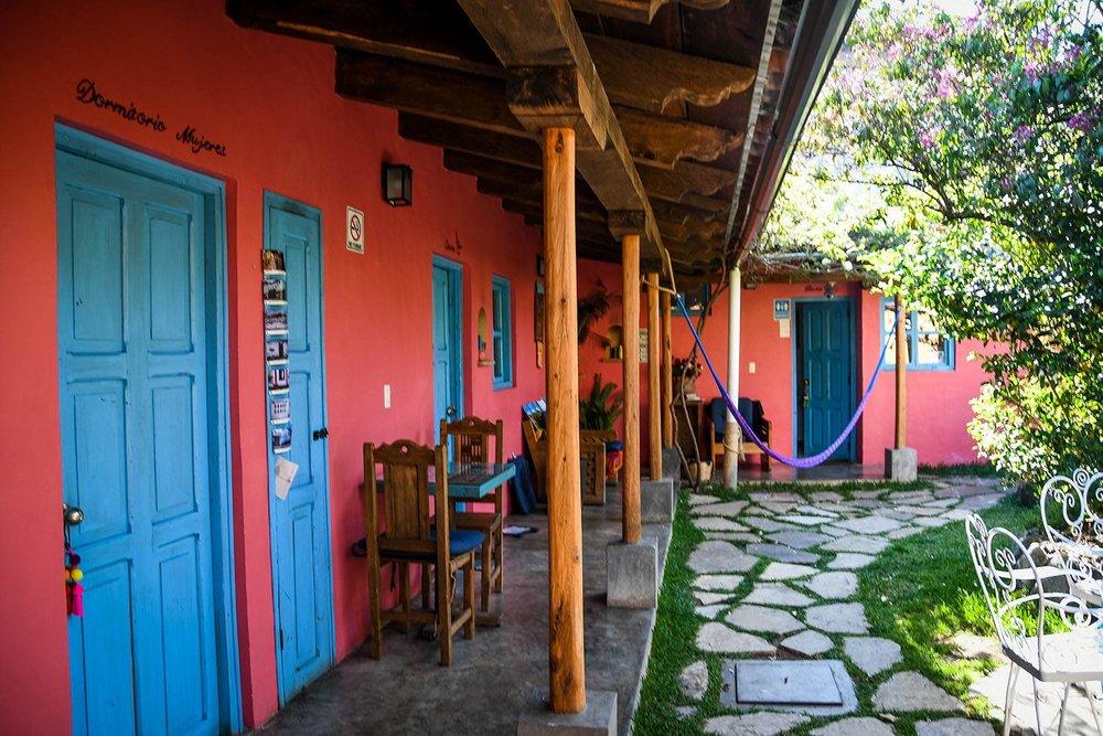 Things to do in San Cristóbal Posada de Abuelito Courtyard