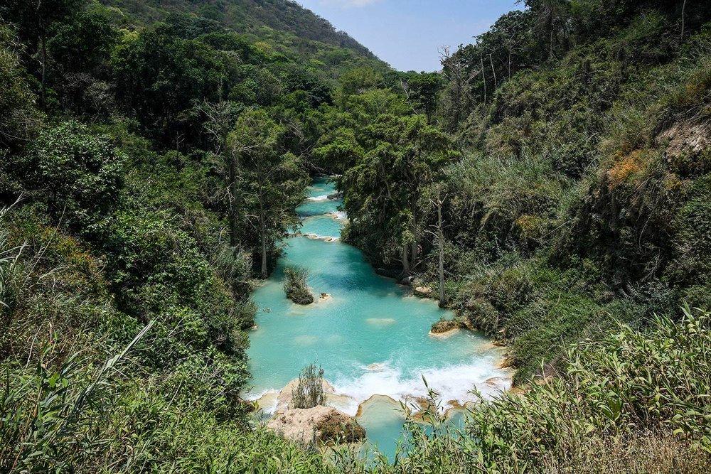 El Chiflon Waterfalls Day Trip Blue River
