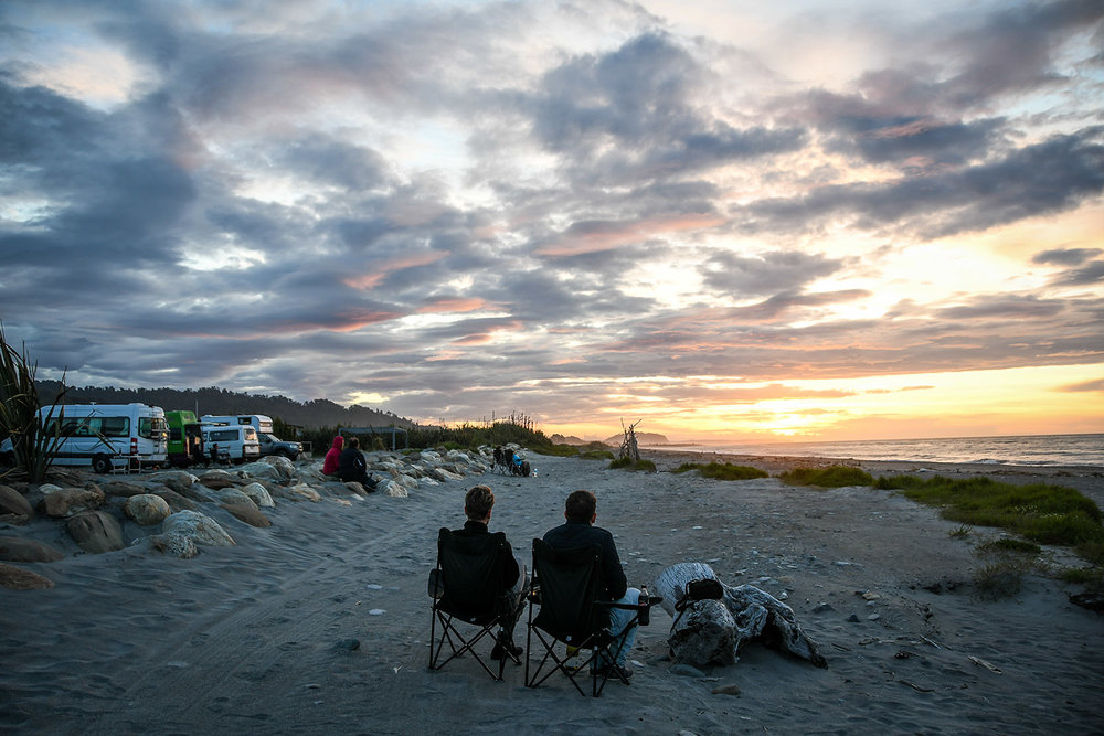 Things to Do in West Coast NZ Sunset at Ross Top 10 Holiday Park