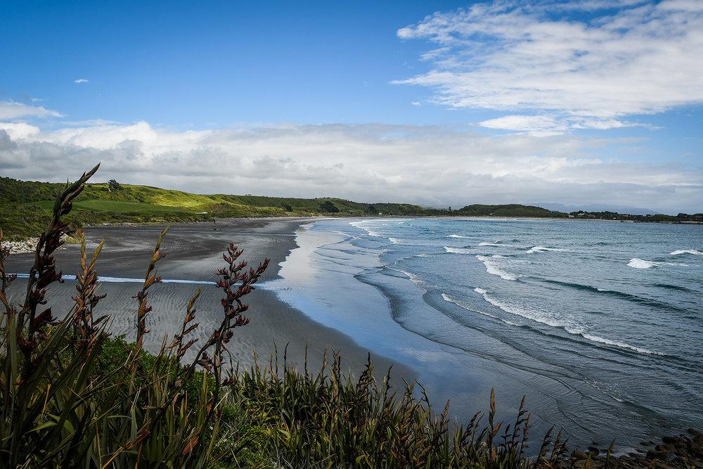 Things to Do in West Coast NZ Black Sand Beach Coastal Road