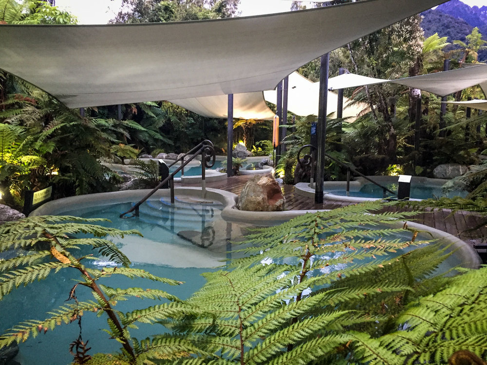 Things to Do in West Coast NZ Franz Josef Glacier Hot Pools