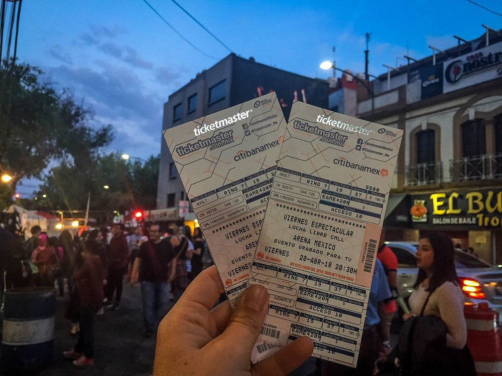 Lucha Libre in Mexico City Without a Tour Tickets
