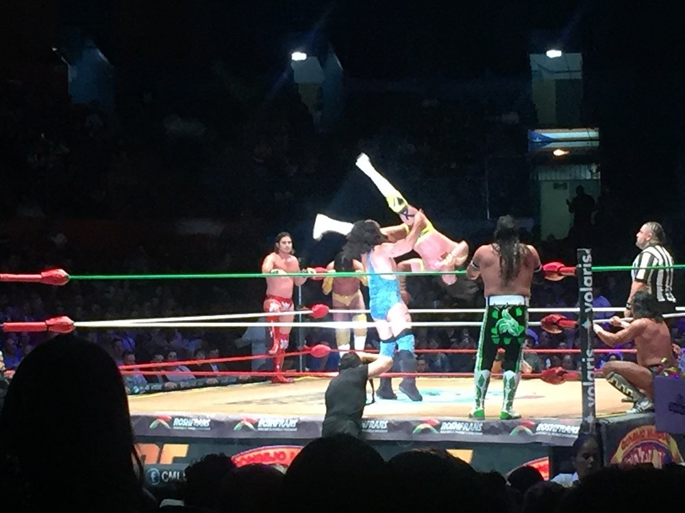 Lucha Libre in Mexico City Without a Tour Wrestling Ring Flip