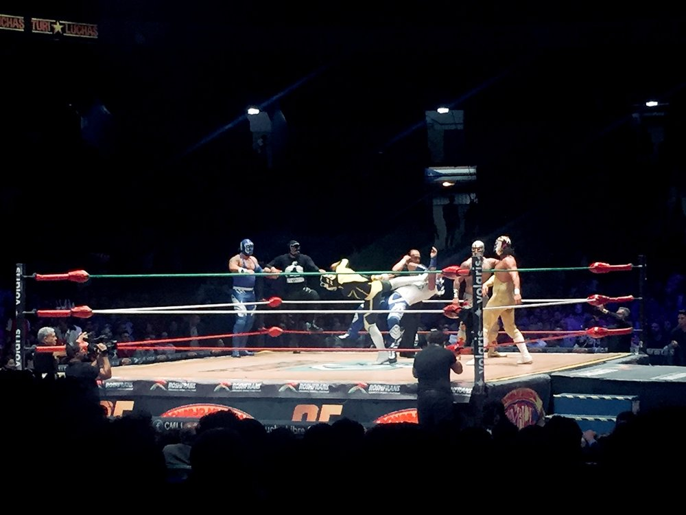 Lucha Libre in Mexico City Without a Tour Wrestling Ring Kick