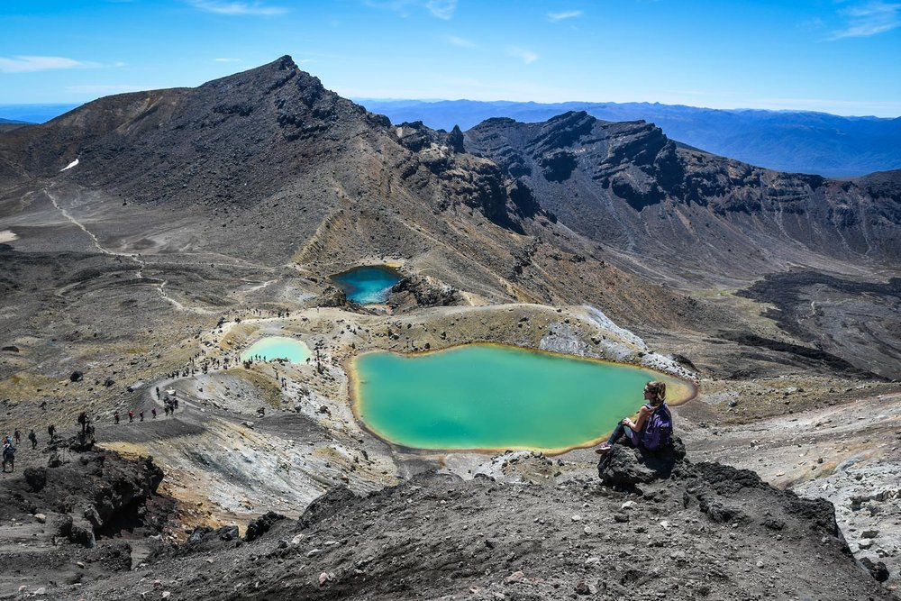 Top Things to Do in New Zealand Hiking Tongariro Crossing