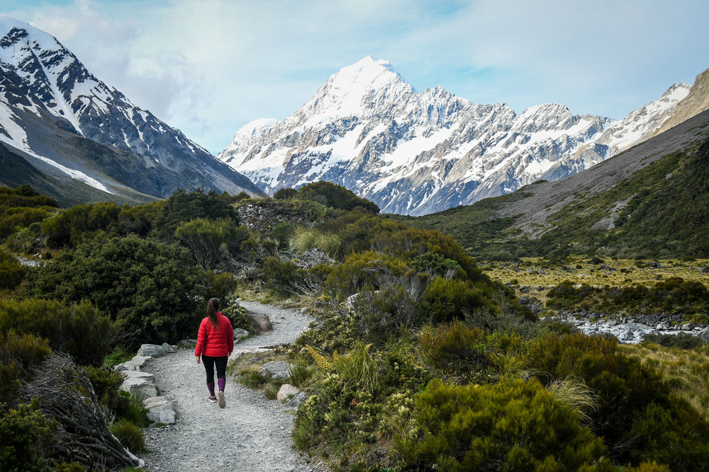 Top Things to Do in New Zealand Hiking Hooker Valley Track