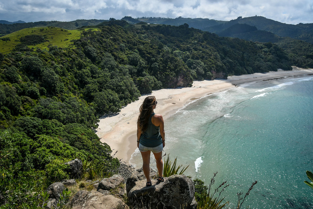 Top Things to Do in New Zealand New Chums Beach Lookout