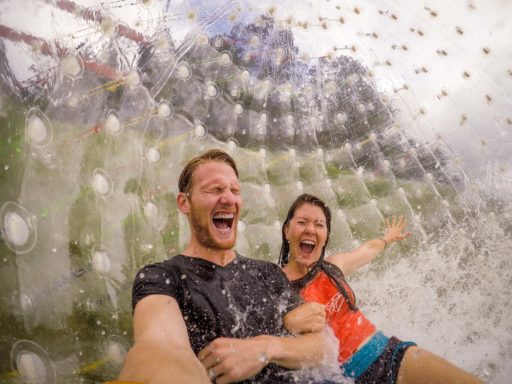 Top Things to Do in New Zealand Zorbing Inflatable Balls