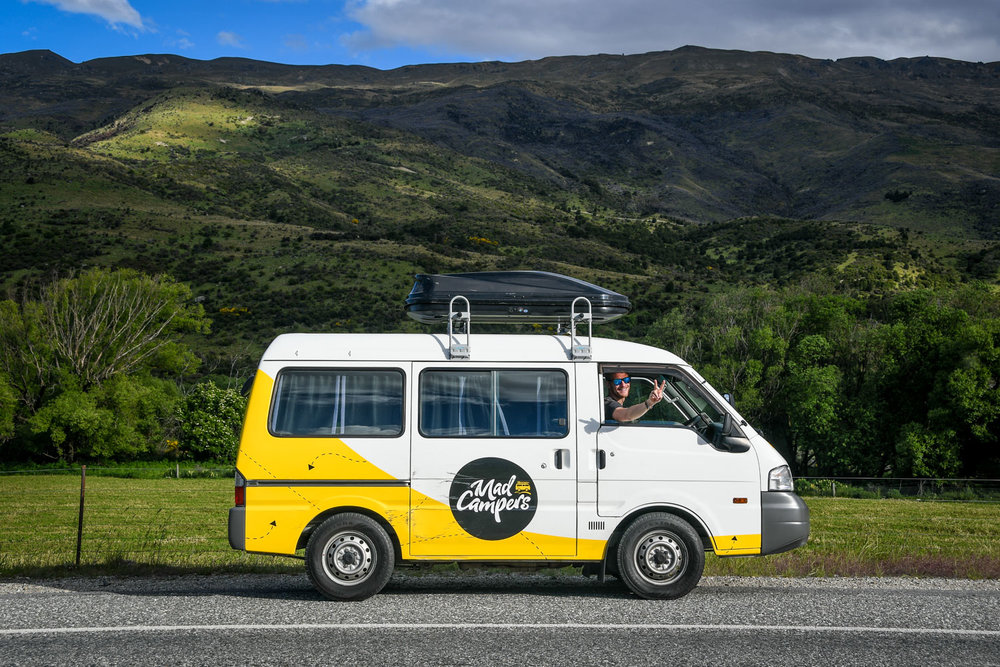 South Island New Zealand Itinerary Road Trip Campervan Mad Campers
