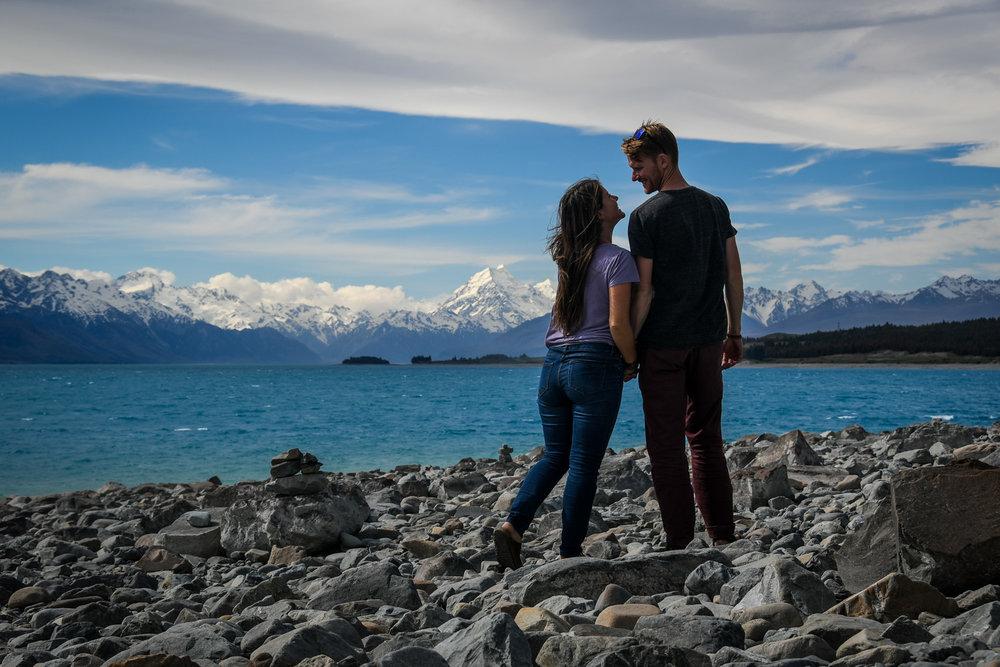 South Island New Zealand Itinerary Road Trip Lake Pukaki