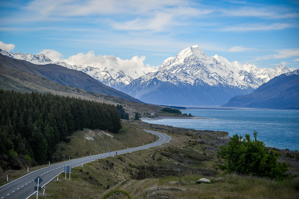 South Island New Zealand Itinerary Road Trip Drive to Mount Cook
