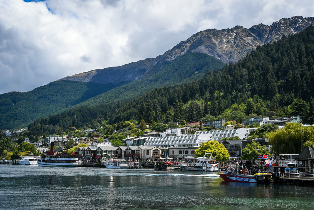South Island New Zealand Itinerary Road Trip Queenstown