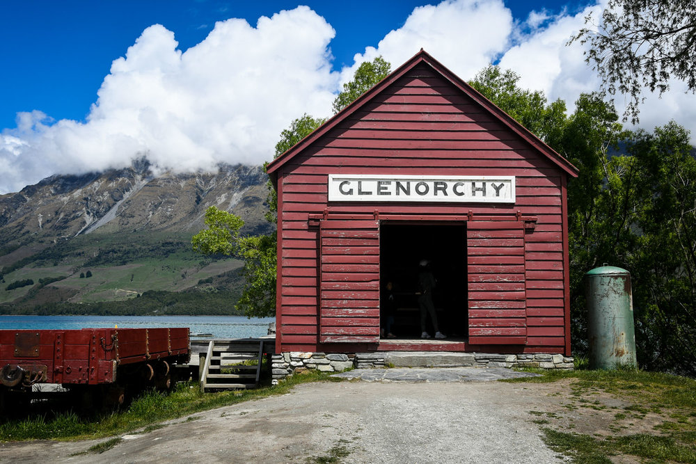 South Island New Zealand Itinerary Road Trip Glenorchy Red Barn Wharf