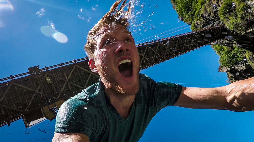 South Island New Zealand Itinerary Bridge Bungy Jump