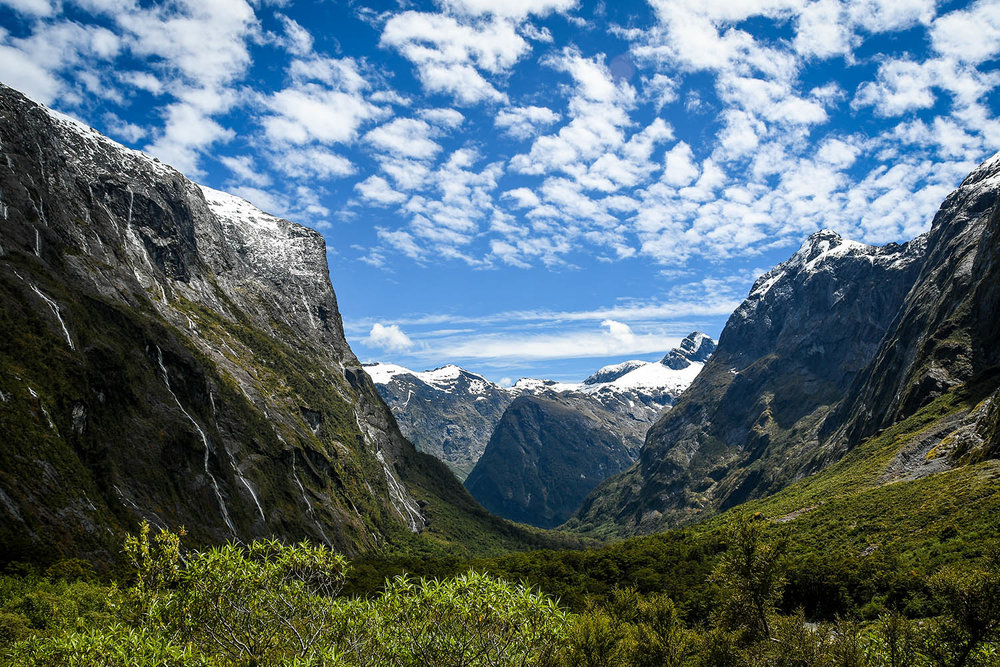 South Island New Zealand Itinerary Road Trip Milford Highway Valley